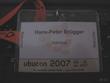 Besucherausweis der Ubucon