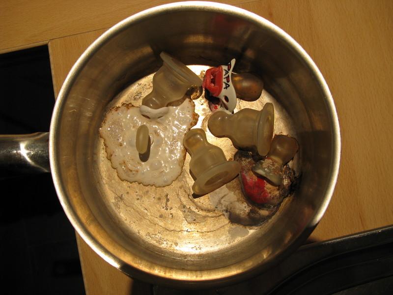 Schnuller Abkochen Wasserkocher